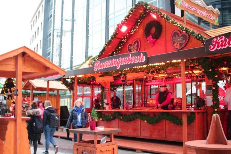クリスマスマーケットinデュッセルドルフ