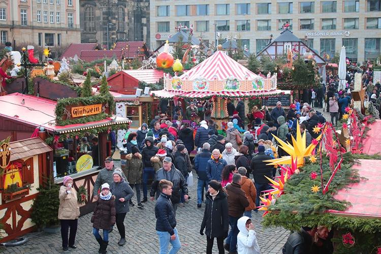 クリスマスマーケットinドレスデン