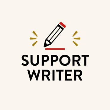 SUPPORT WRITER
