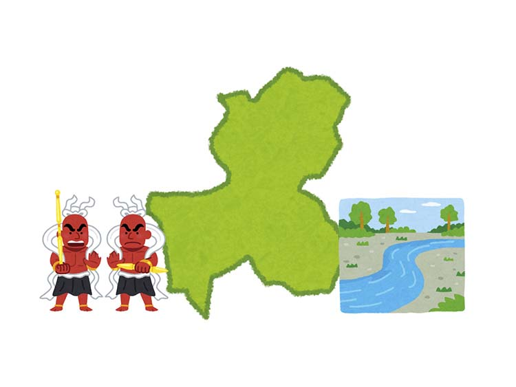 岐阜県地図