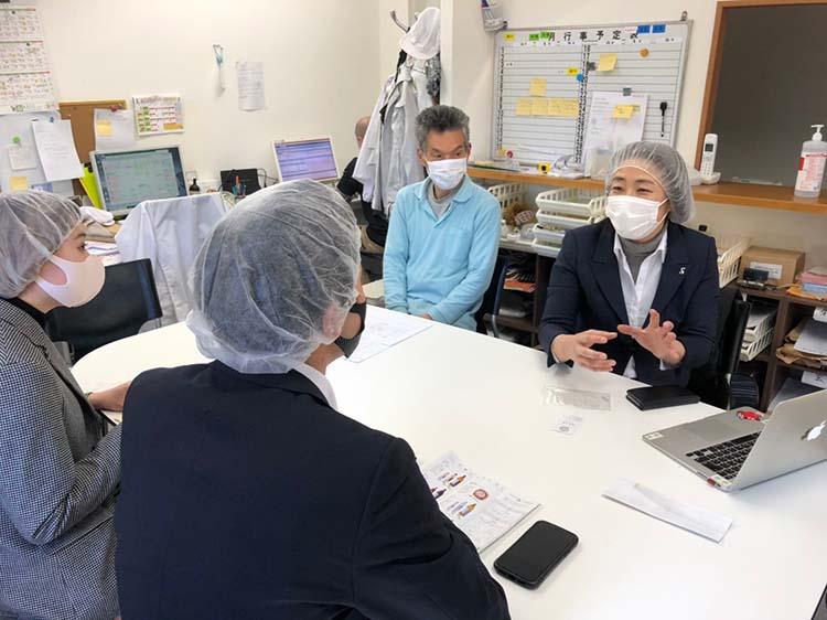 MIKURA伊藤社長、福井さん
